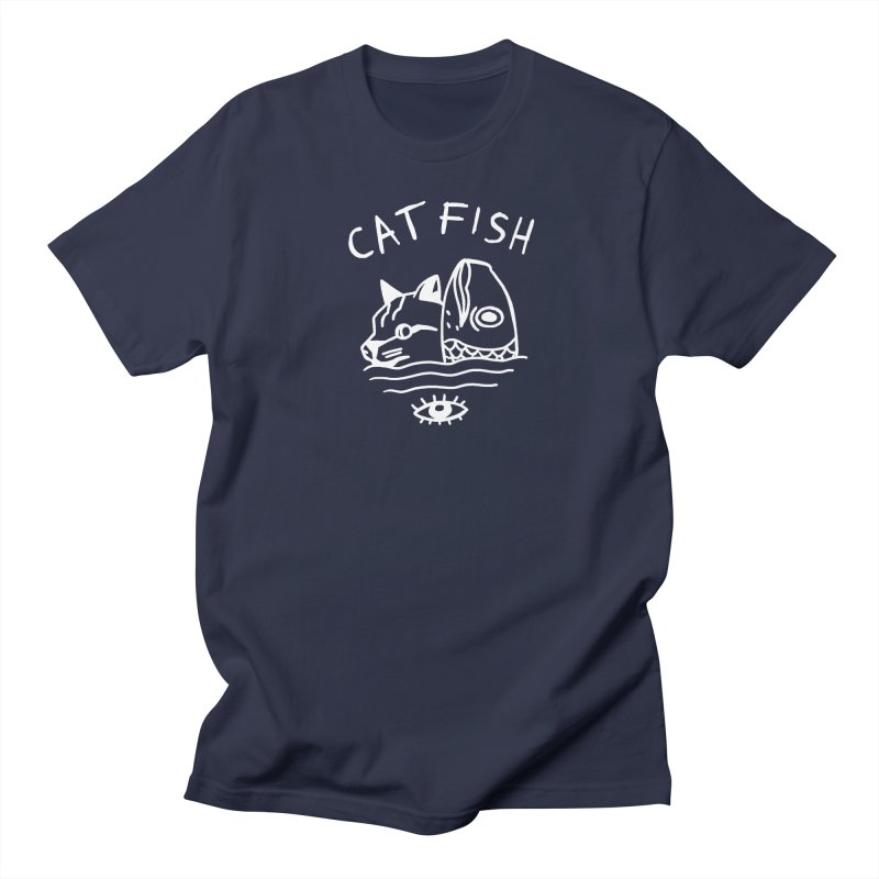 Catfish Women's Regular Unisex T-Shirt by Ertito Montana