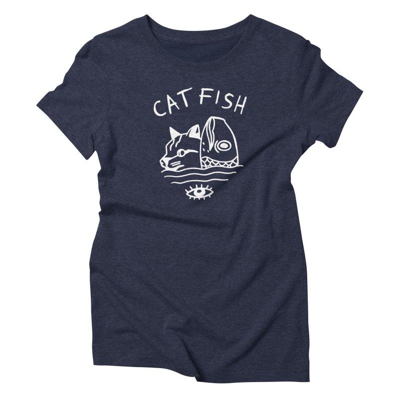 Catfish Women's Triblend T-Shirt by Ertito Montana
