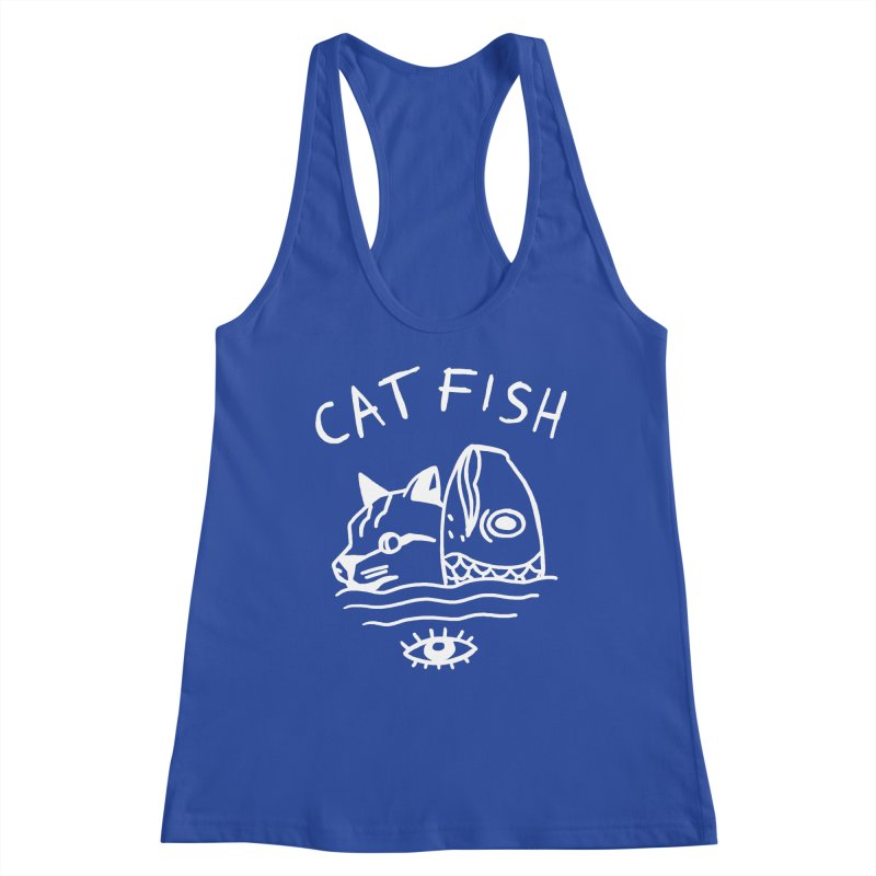 Catfish Women's Racerback Tank by Ertito Montana