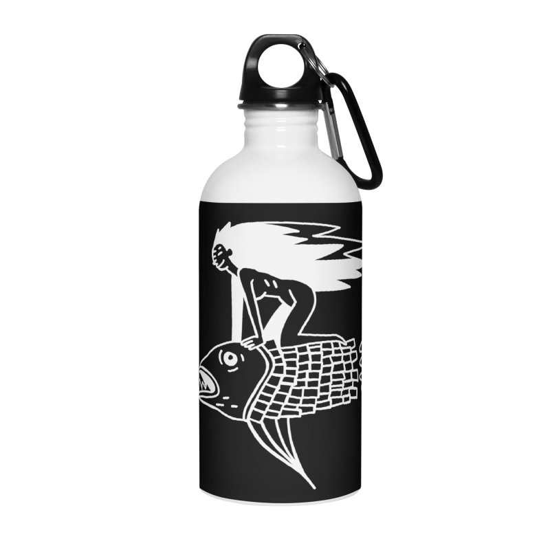 Pez volador Accessories Water Bottle by Ertito Montana