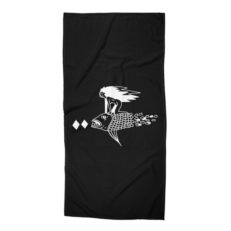 Pez volador Accessories Beach Towel by Ertito Montana