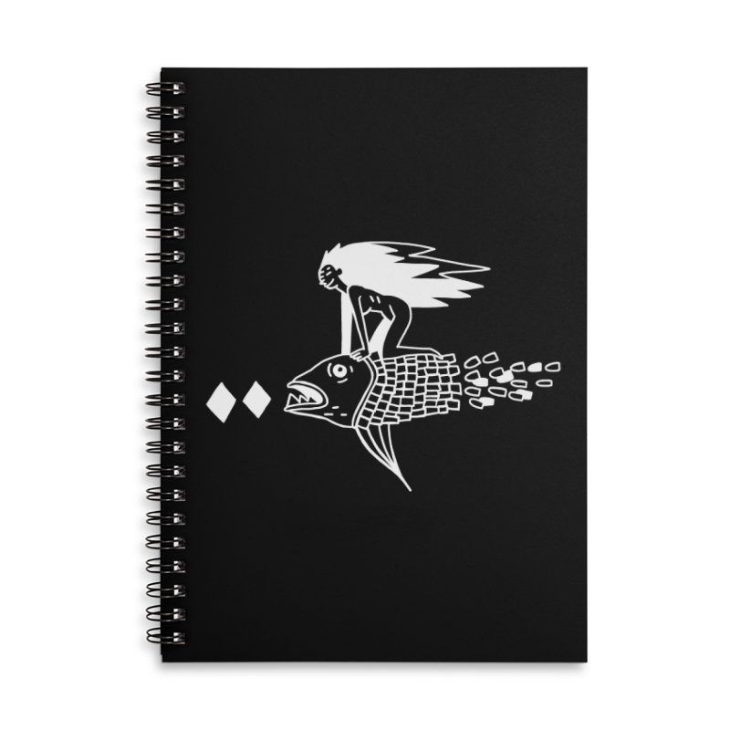 Pez volador Accessories Notebook by Ertito Montana
