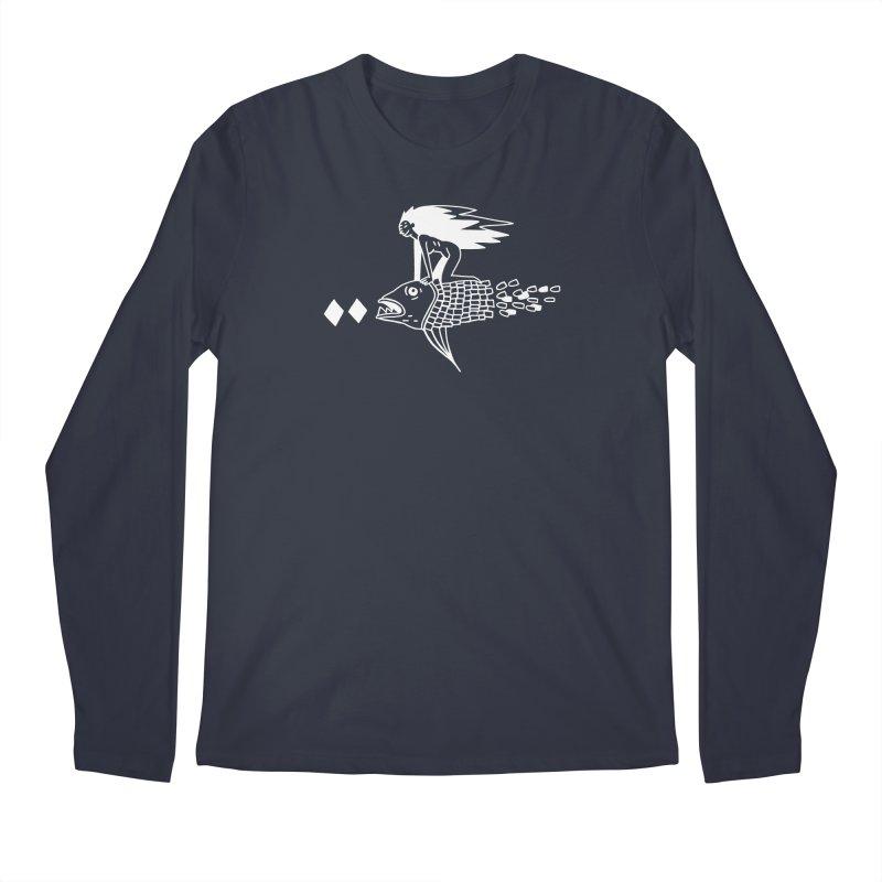 Pez volador Men's Regular Longsleeve T-Shirt by Ertito Montana