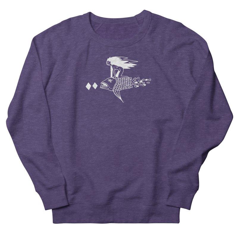 Pez volador Women's French Terry Sweatshirt by Ertito Montana