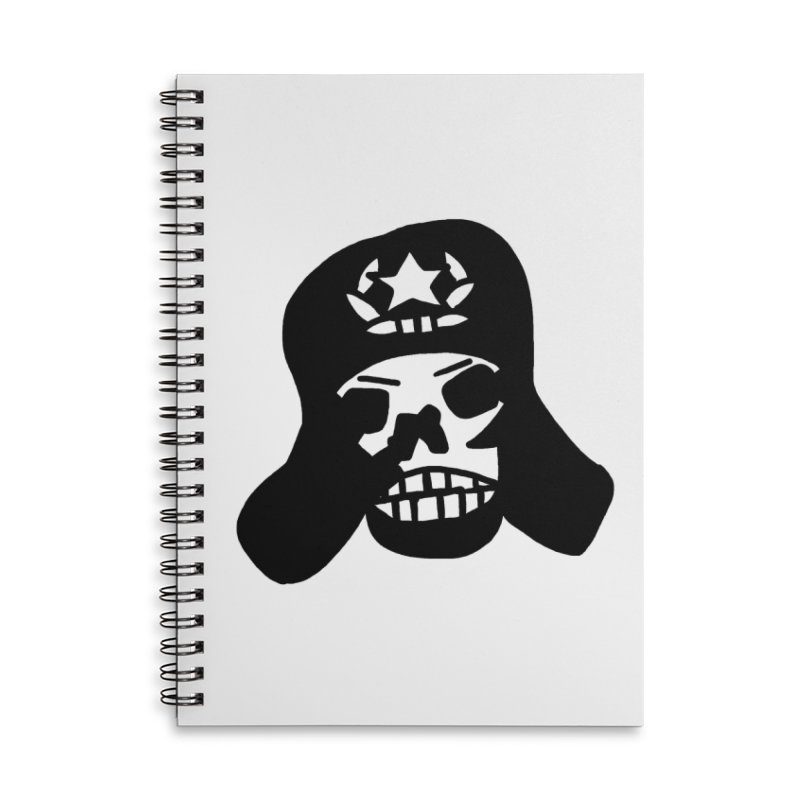 Ruski Accessories Lined Spiral Notebook by Ertito Montana