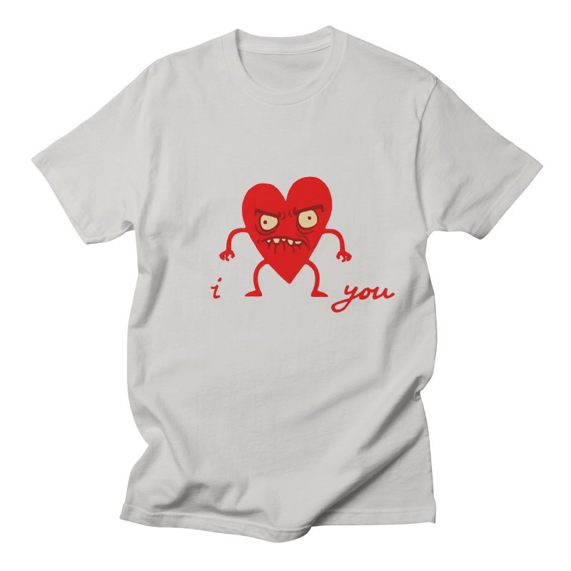 i HEART you Men's T-Shirt by My Life is a Patchwork of Regrets