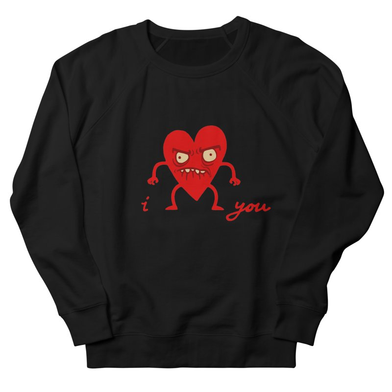 i HEART you Men's Sweatshirt by My Life is a Patchwork of Regrets