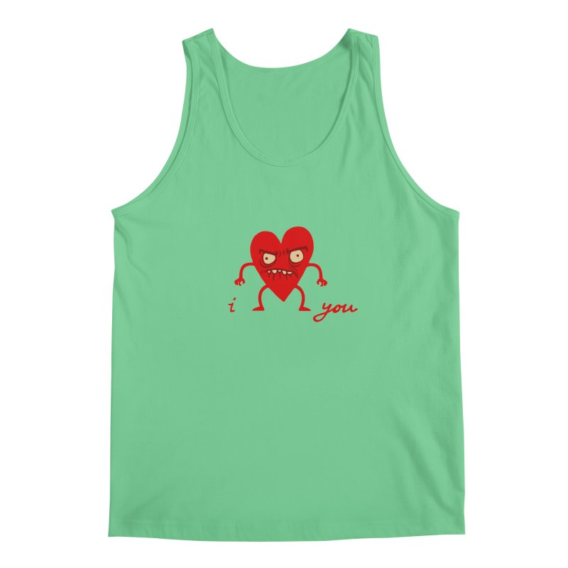 i HEART you Men's Tank by My Life is a Patchwork of Regrets