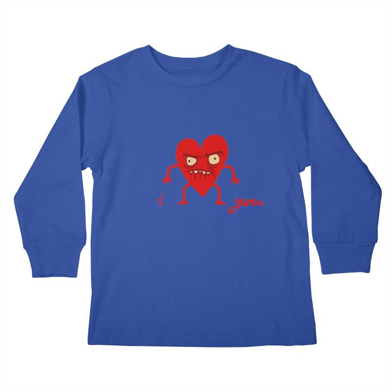 i HEART you Kids Longsleeve T-Shirt by My Life is a Patchwork of Regrets