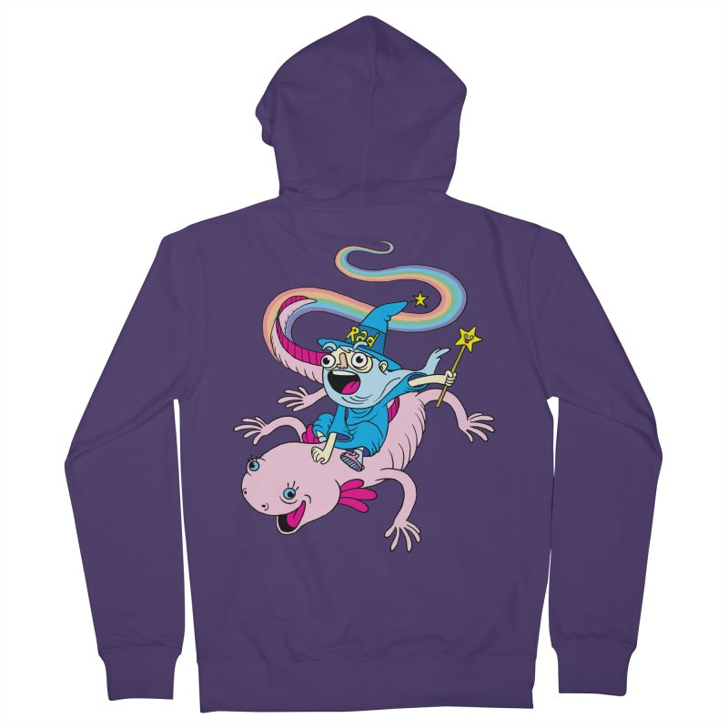 Rad-zor the Sorcerer Women's French Terry Zip-Up Hoody by My Life is a Patchwork of Regrets