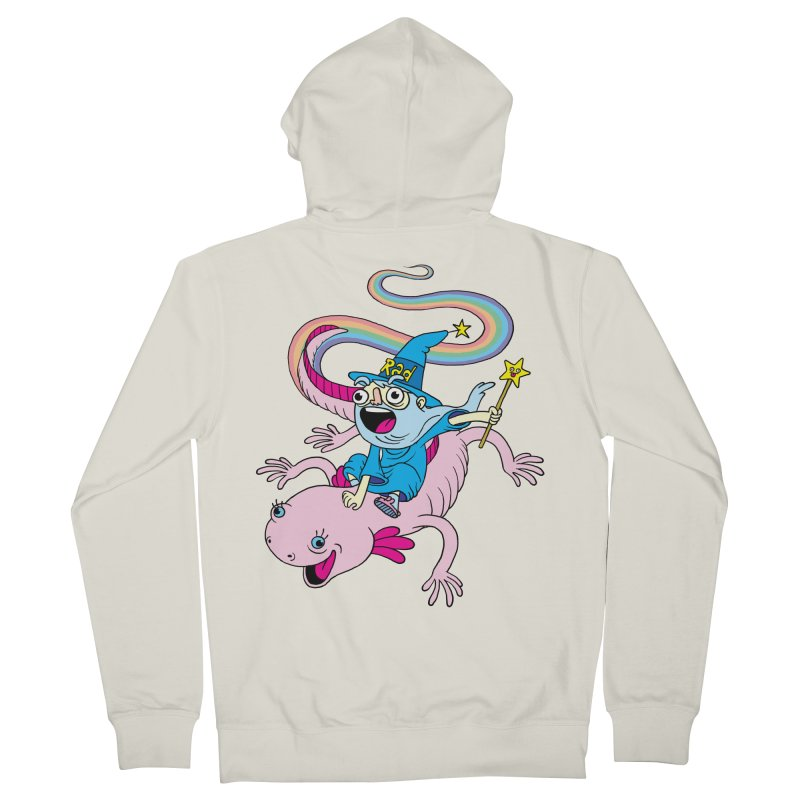 Rad-zor the Sorcerer Men's Zip-Up Hoody by My Life is a Patchwork of Regrets