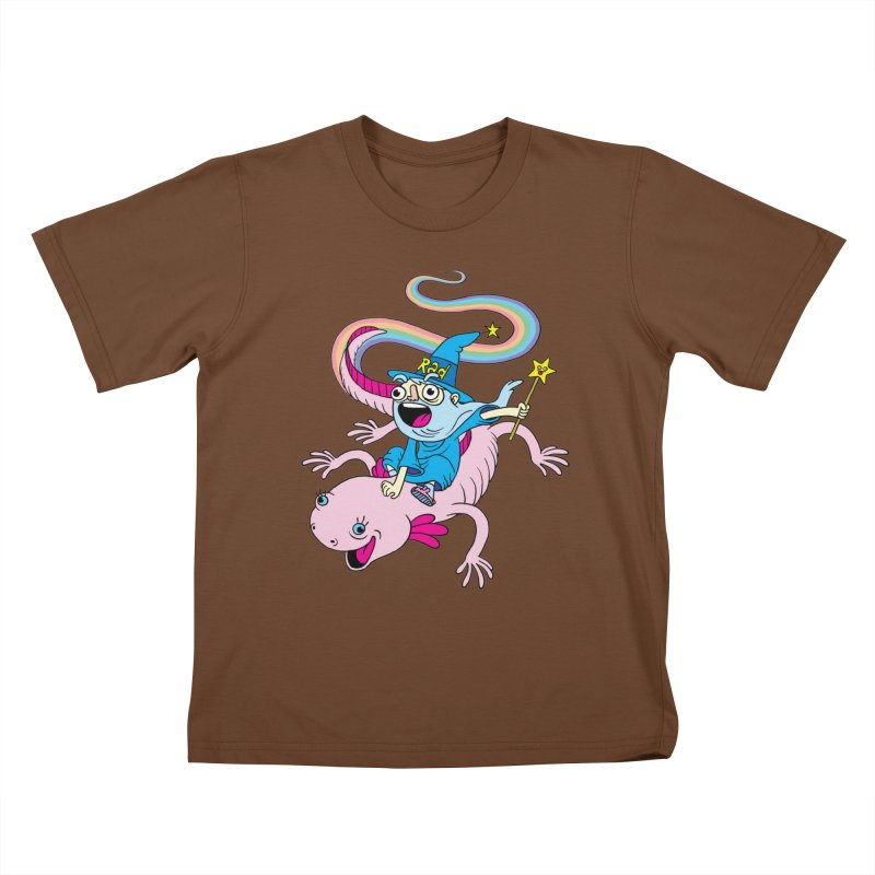 Rad-zor the Sorcerer Kids T-shirt by My Life is a Patchwork of Regrets