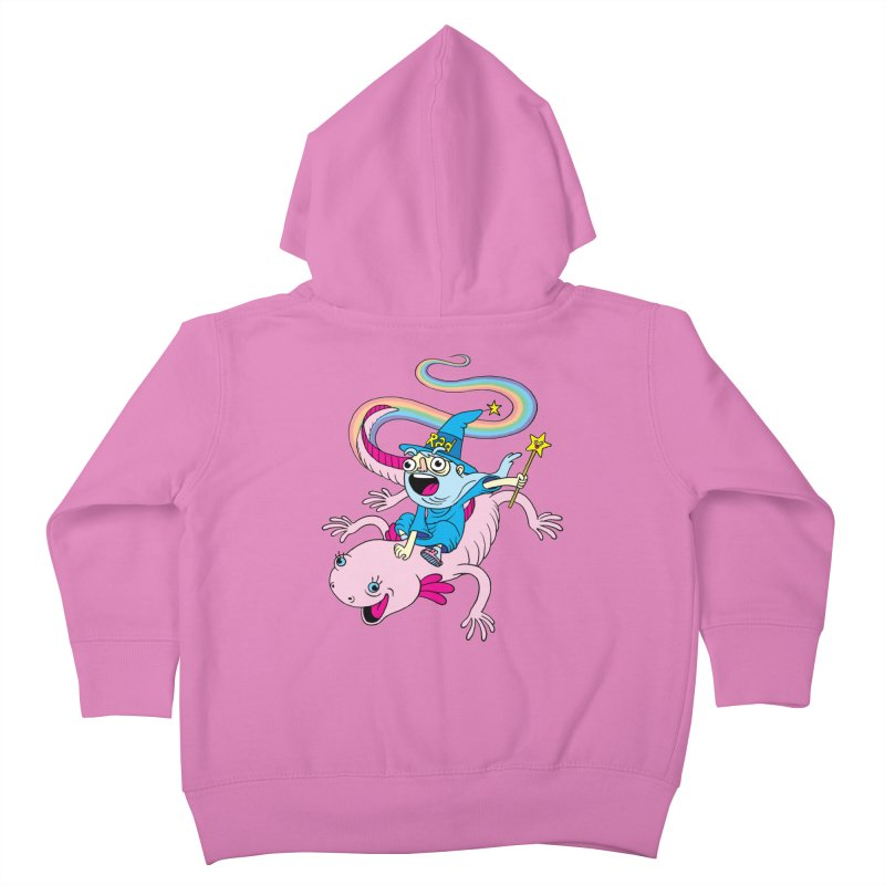 Rad-zor the Sorcerer Kids Toddler Zip-Up Hoody by My Life is a Patchwork of Regrets
