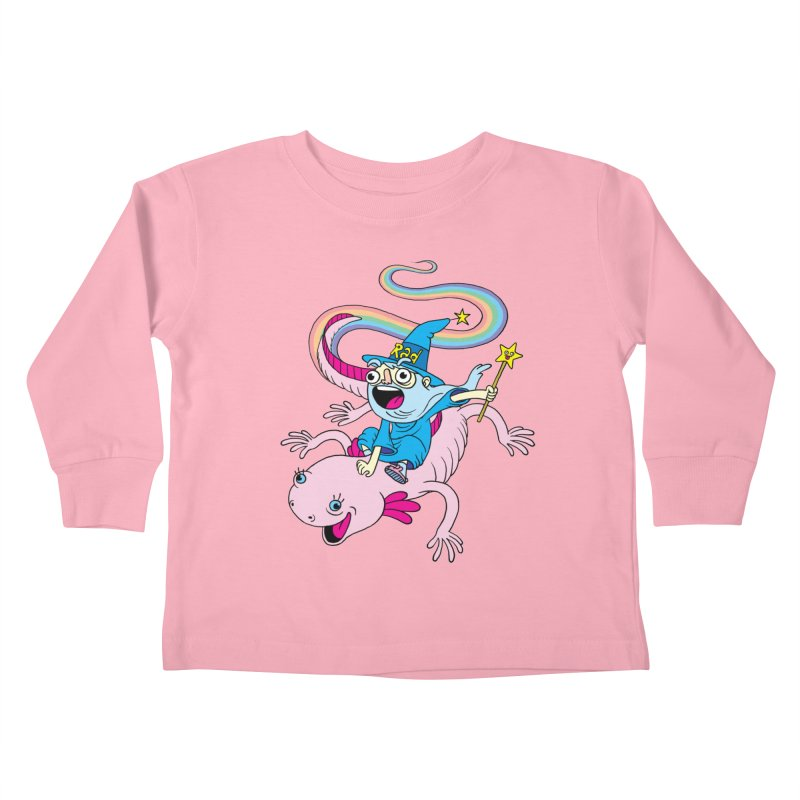 Rad-zor the Sorcerer Kids Toddler Longsleeve T-Shirt by My Life is a Patchwork of Regrets