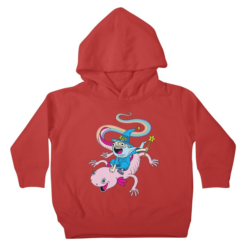 Rad-zor the Sorcerer Kids Toddler Pullover Hoody by My Life is a Patchwork of Regrets