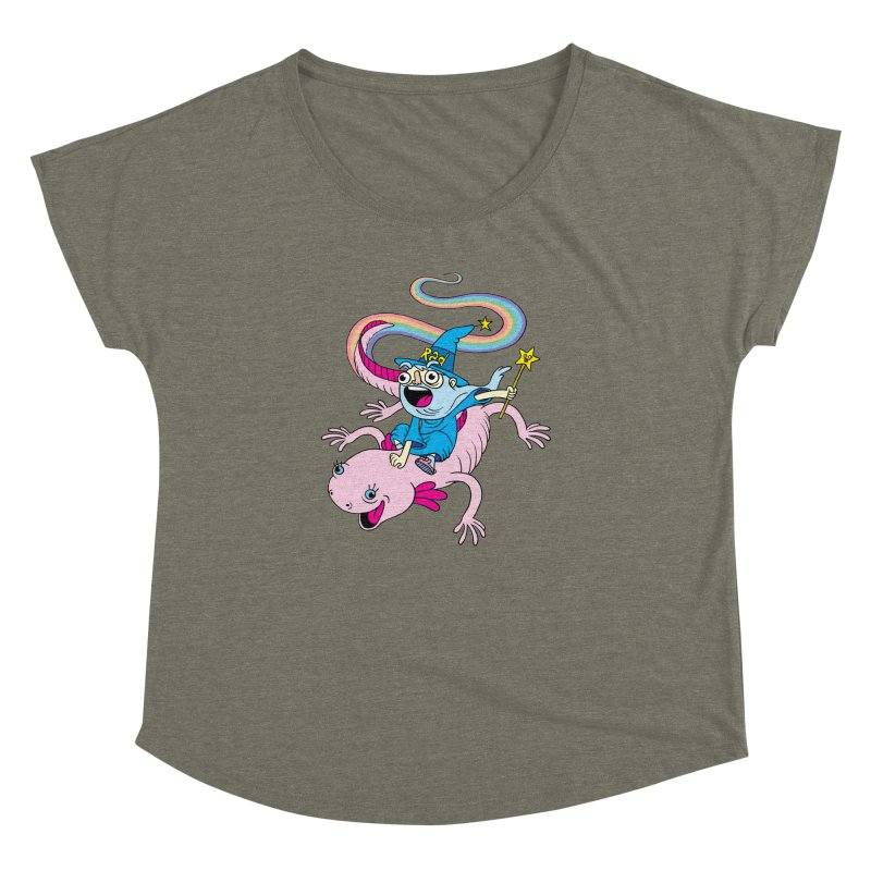 Rad-zor the Sorcerer Women's Dolman Scoop Neck by My Life is a Patchwork of Regrets