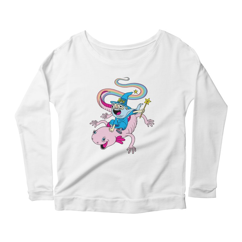 Rad-zor the Sorcerer Women's Scoop Neck Longsleeve T-Shirt by My Life is a Patchwork of Regrets