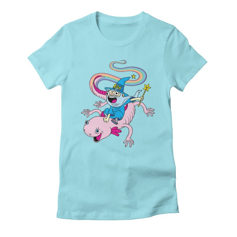 Rad-zor the Sorcerer Women's Fitted T-Shirt by My Life is a Patchwork of Regrets