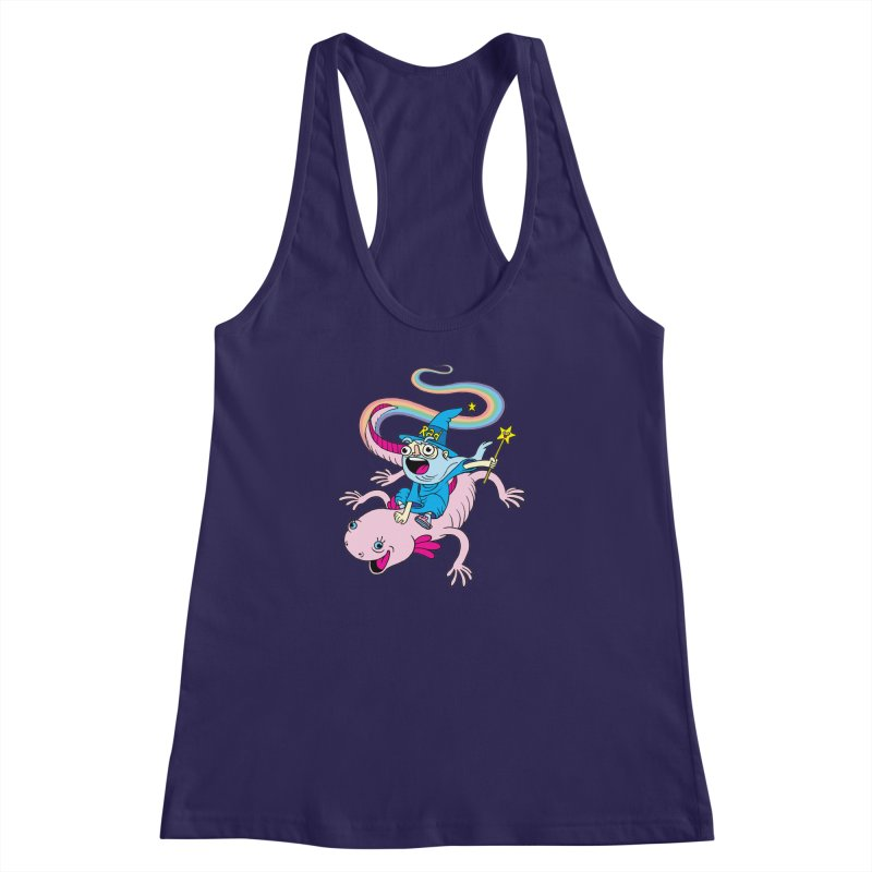 Rad-zor the Sorcerer Women's Racerback Tank by My Life is a Patchwork of Regrets