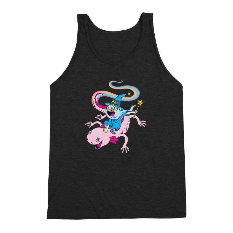 Rad-zor the Sorcerer Men's Triblend Tank by My Life is a Patchwork of Regrets