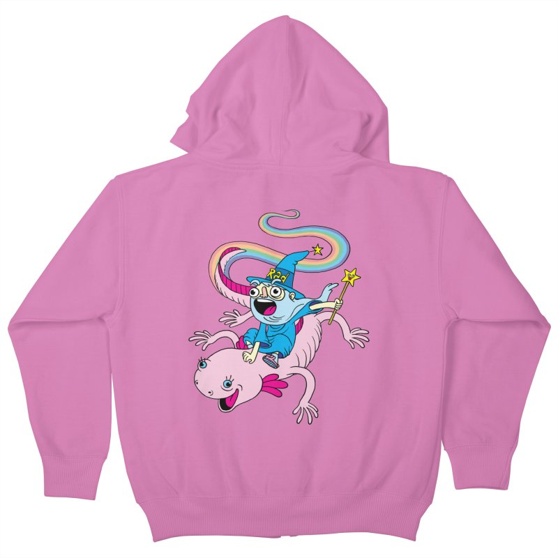Rad-zor the Sorcerer Kids Zip-Up Hoody by My Life is a Patchwork of Regrets