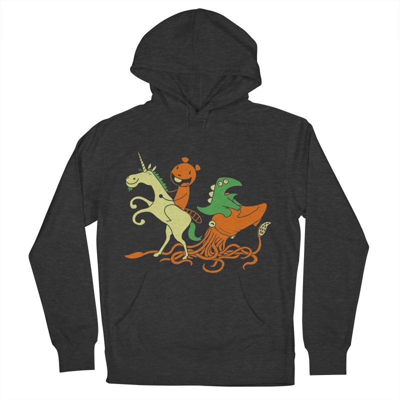 A Shoeful of Trouble Men's French Terry Pullover Hoody by My Life is a Patchwork of Regrets