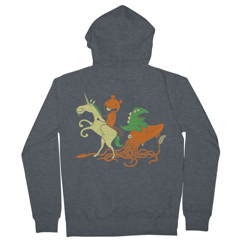 A Shoeful of Trouble Men's Zip-Up Hoody by My Life is a Patchwork of Regrets