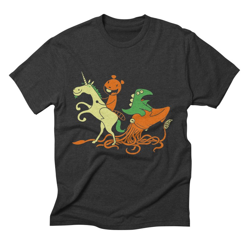 A Shoeful of Trouble Men's Triblend T-Shirt by My Life is a Patchwork of Regrets