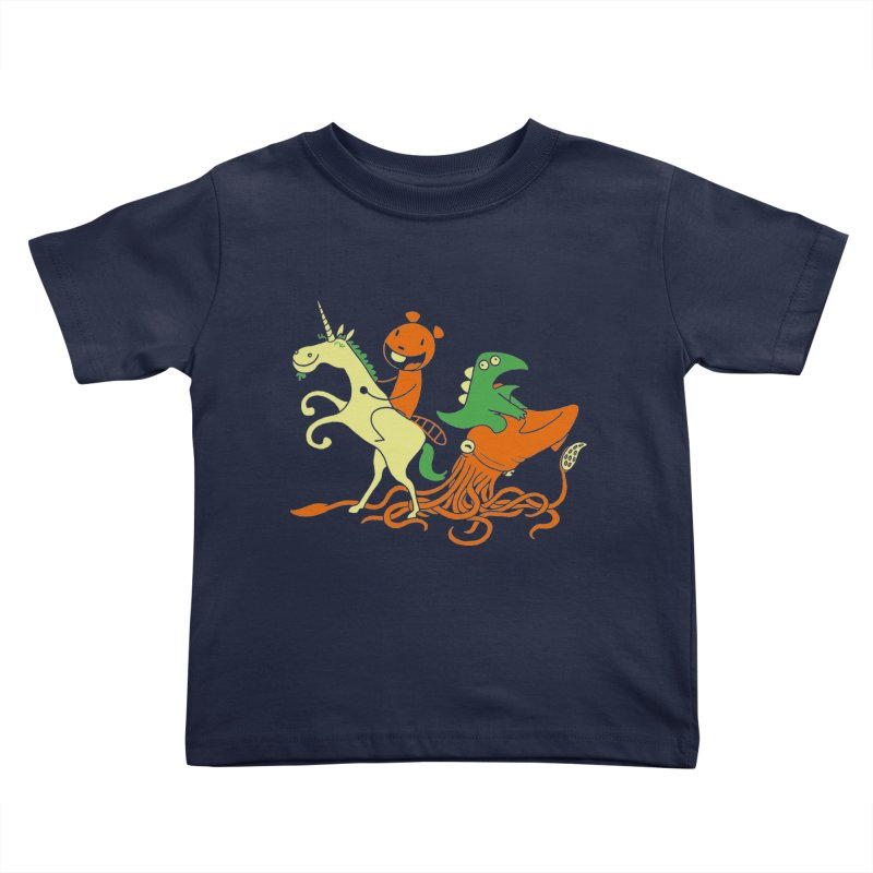 A Shoeful of Trouble Kids Toddler T-Shirt by My Life is a Patchwork of Regrets