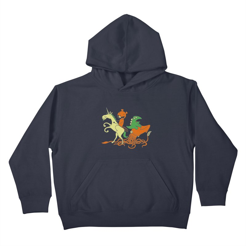 A Shoeful of Trouble Kids Pullover Hoody by My Life is a Patchwork of Regrets