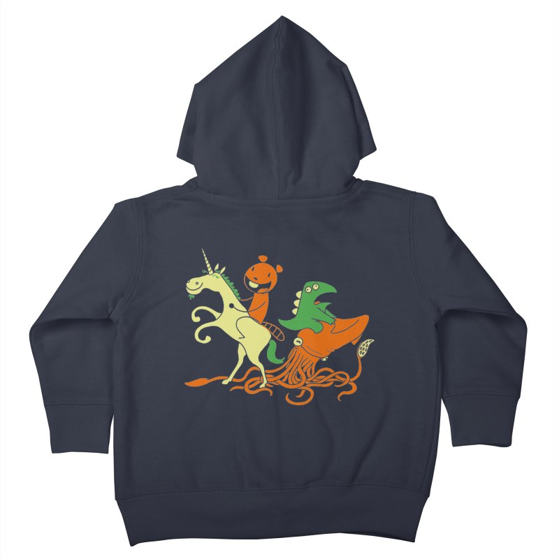 A Shoeful of Trouble Kids Toddler Zip-Up Hoody by My Life is a Patchwork of Regrets