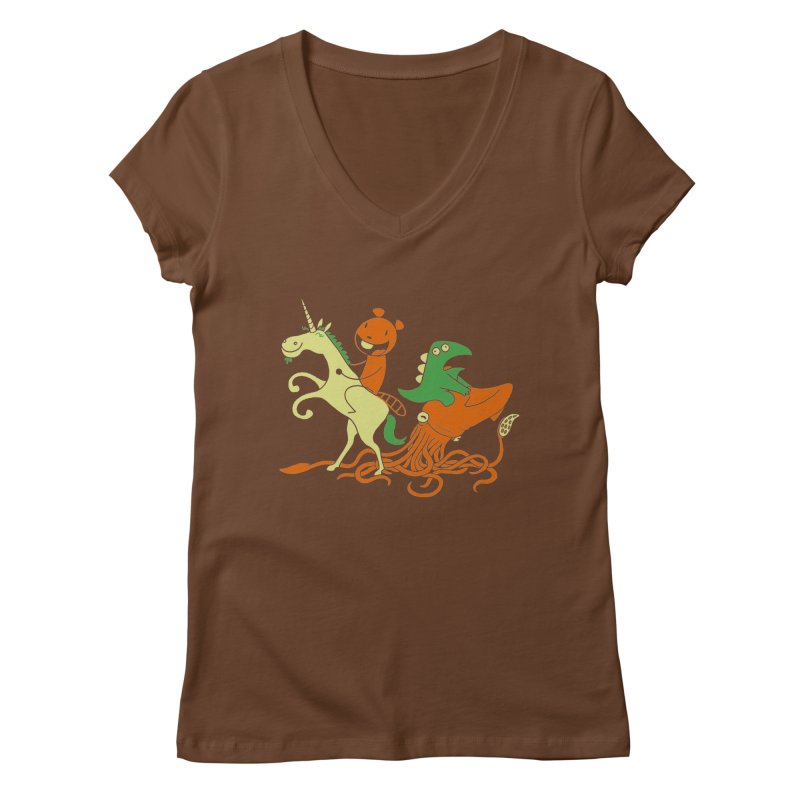A Shoeful of Trouble Women's Regular V-Neck by My Life is a Patchwork of Regrets