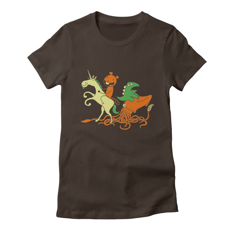 A Shoeful of Trouble Women's Fitted T-Shirt by My Life is a Patchwork of Regrets