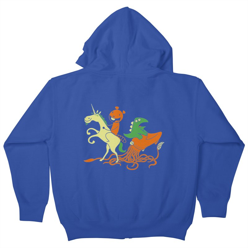 A Shoeful of Trouble Kids Zip-Up Hoody by My Life is a Patchwork of Regrets
