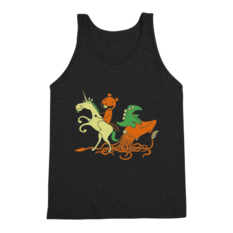 A Shoeful of Trouble Men's Triblend Tank by My Life is a Patchwork of Regrets