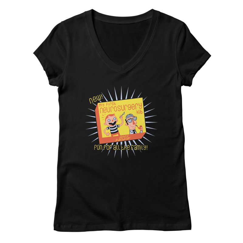 My First Neurosurgery Kit Women's V-Neck by My Life is a Patchwork of Regrets