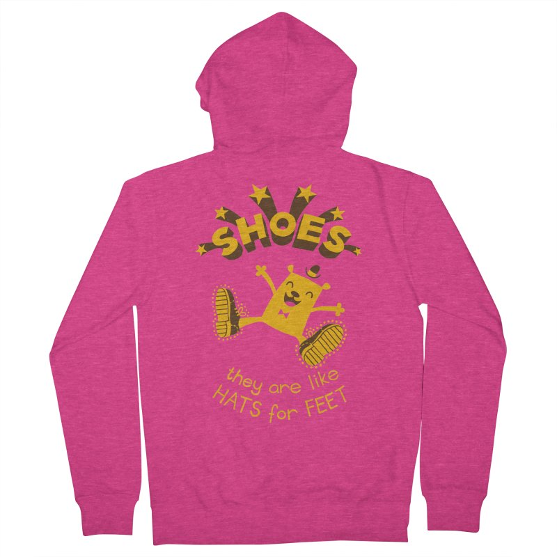 SHOES Women's French Terry Zip-Up Hoody by My Life is a Patchwork of Regrets
