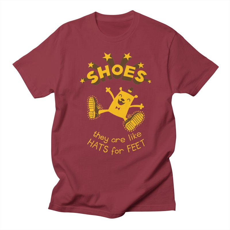 SHOES Men's T-Shirt by My Life is a Patchwork of Regrets