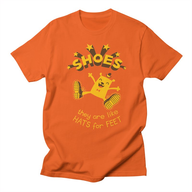 SHOES Men's Regular T-Shirt by My Life is a Patchwork of Regrets