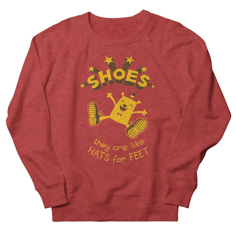 SHOES Women's Sweatshirt by My Life is a Patchwork of Regrets
