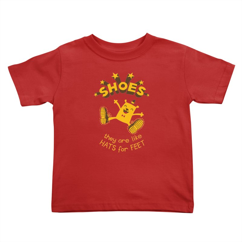SHOES Kids Toddler T-Shirt by My Life is a Patchwork of Regrets