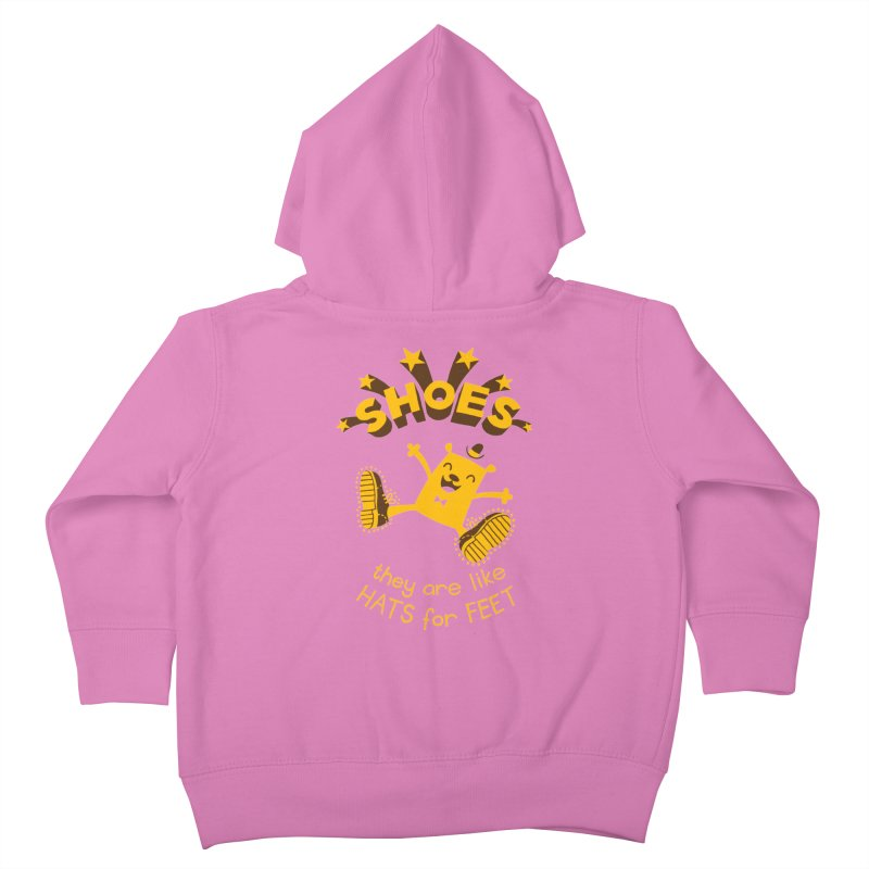 SHOES Kids Toddler Zip-Up Hoody by My Life is a Patchwork of Regrets