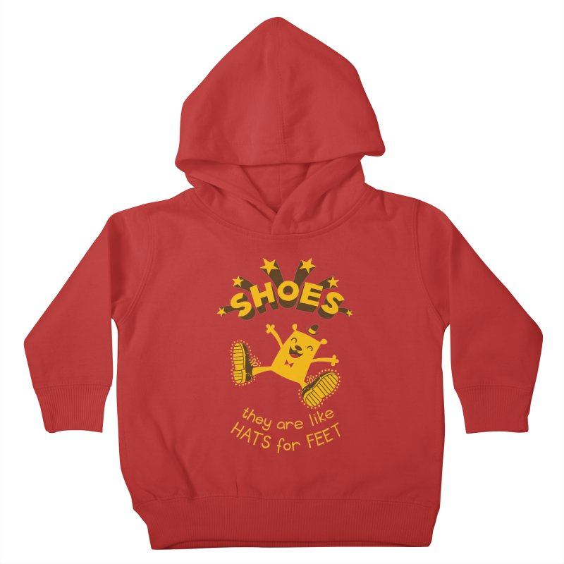 SHOES Kids Toddler Pullover Hoody by My Life is a Patchwork of Regrets