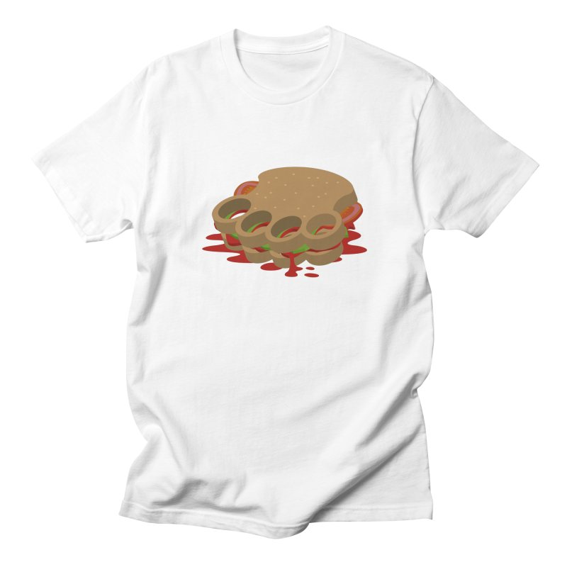 Knuckle sandwich Men's T-shirt by Erwin's Artist Shop
