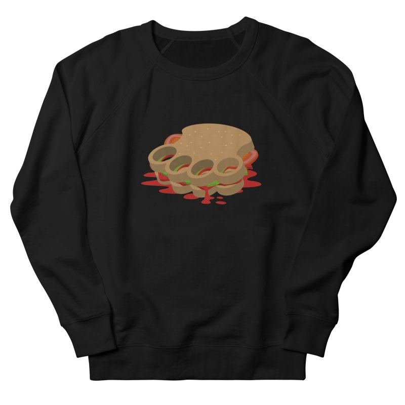 Knuckle sandwich Women's French Terry Sweatshirt by Erwin's Artist Shop