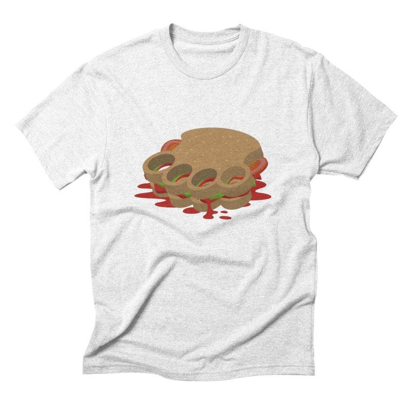 Knuckle sandwich Men's Triblend T-shirt by Erwin's Artist Shop