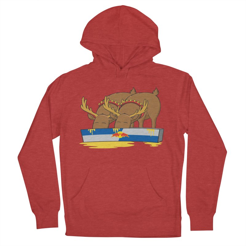 Santa's Secret Men's Pullover Hoody by Erwin's Artist Shop