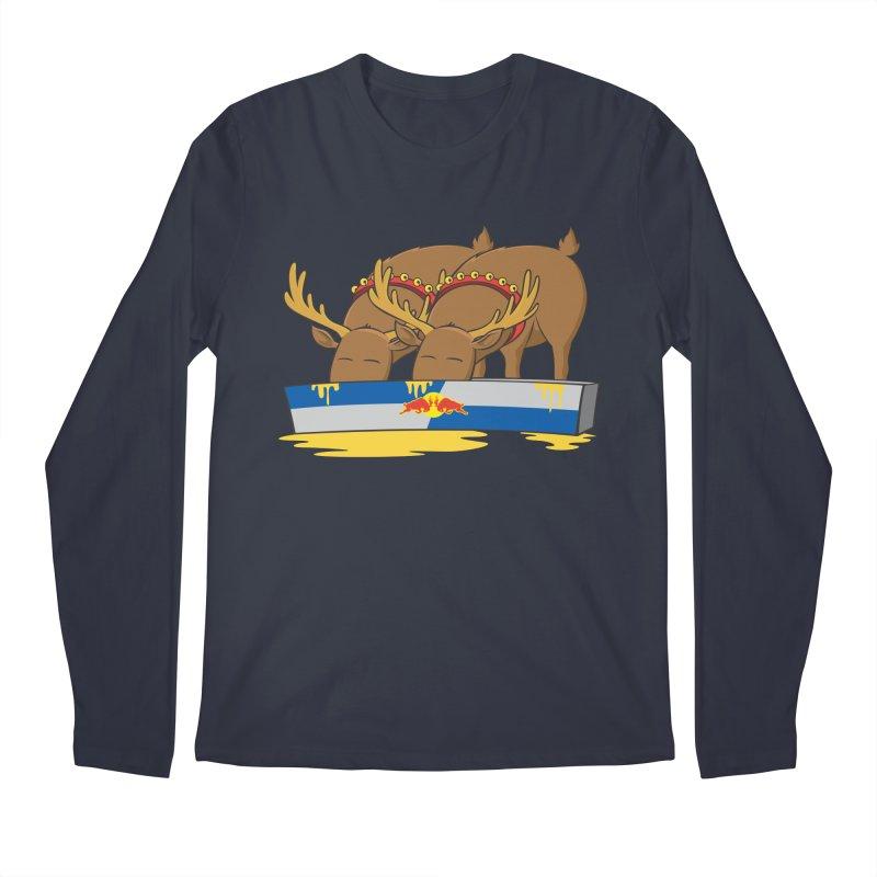 Santa's Secret Men's Regular Longsleeve T-Shirt by Erwin's Artist Shop