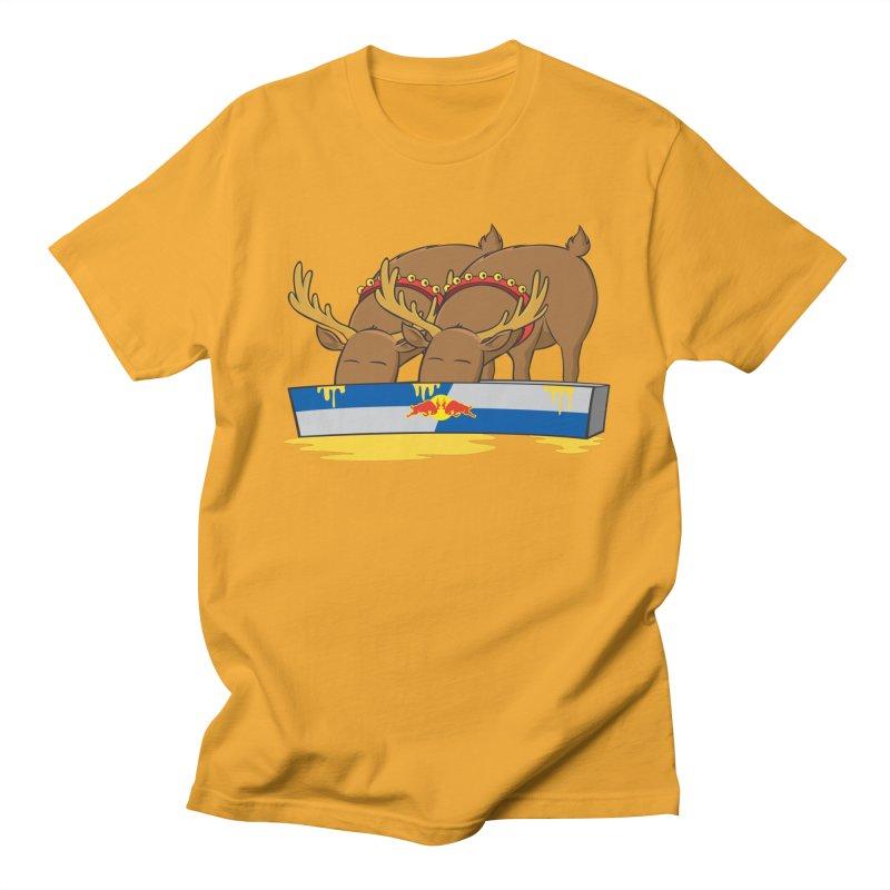 Santa's Secret Men's Regular T-Shirt by Erwin's Artist Shop