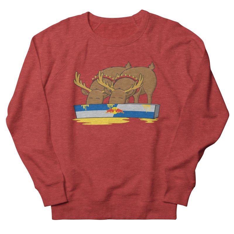 Santa's Secret Women's Sweatshirt by Erwin's Artist Shop